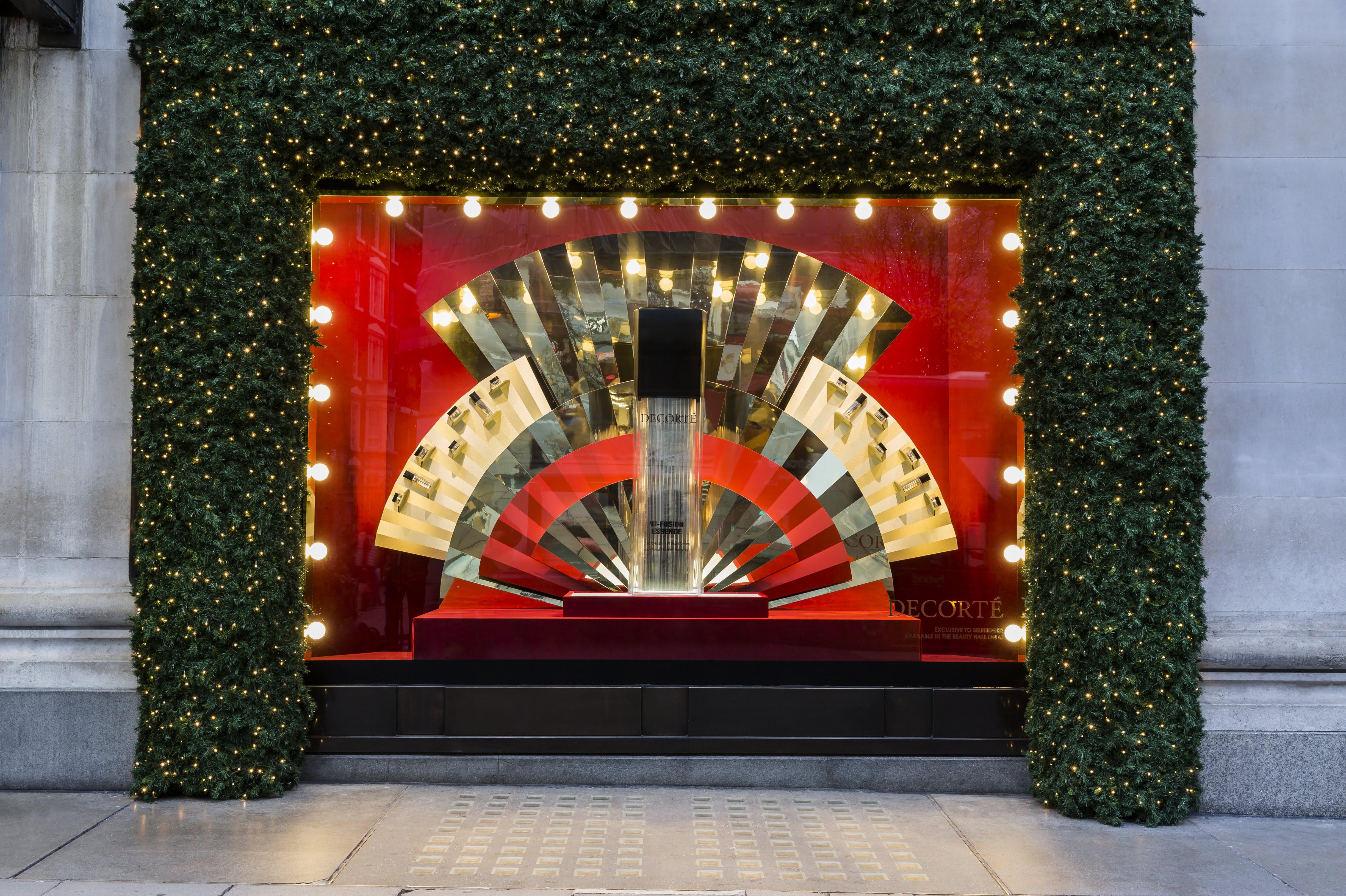Justin Focus Technical Design - Selfridges Christmas Windows